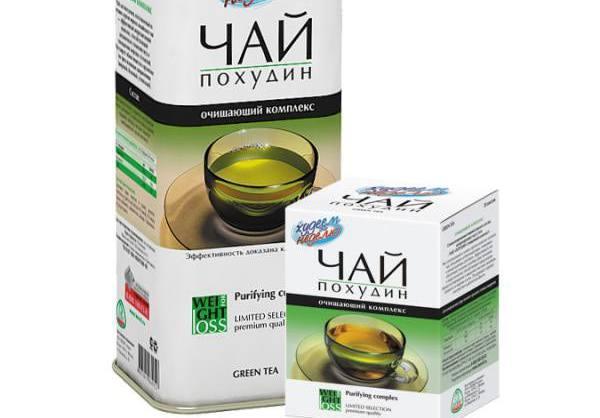 очищающие чаи для похудения в аптеке