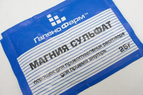 Сульфат магния (магнезия) для очищения кишечника: инструкция