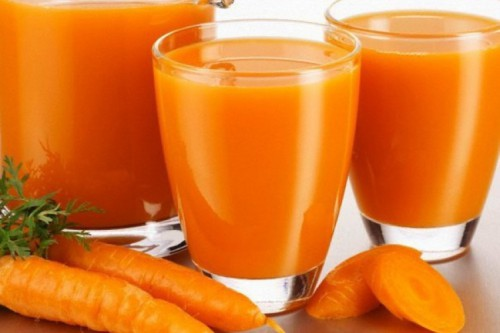 Чистка печени соками: морковний, томатний, картофельний