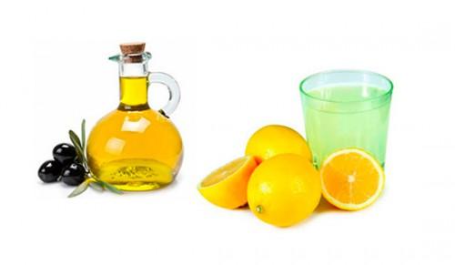 Оливковое масло и лимон