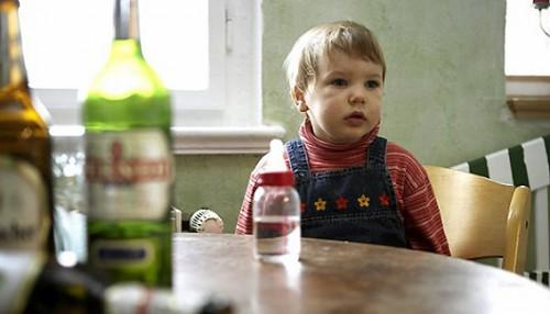 Ребенок в пьющей семье