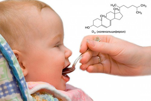 Прием витамин Д3
