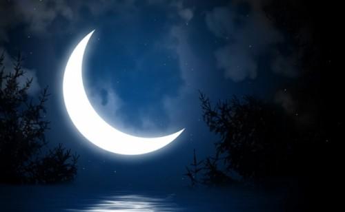 Убывающую луна