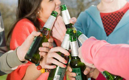 Дети с пивом