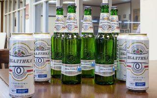Пиво Балтика безалкогольная