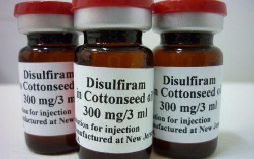 Дисульфирам - препарат