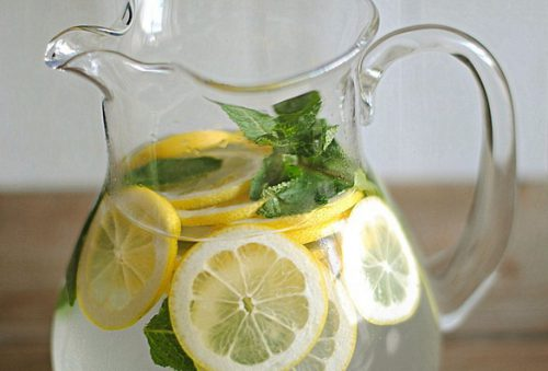 Настой лимона и мяты