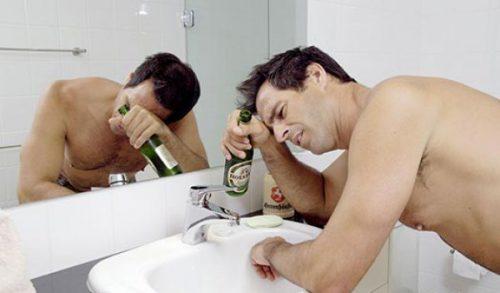 Плохое самочувствие после пьянки