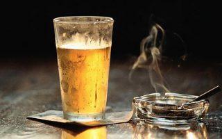 Пиво и сигарета