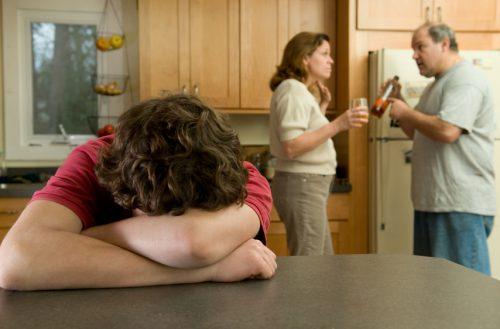 Пьющие родители и подросток