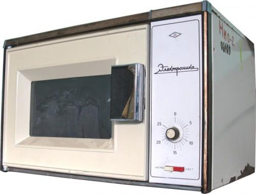 Бытовая микроволновая печь производилась в СССР