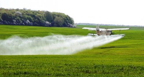Обработка посевов пестицидами
