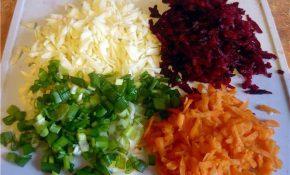 Разновидности салатов «Метелка» для очищения кишечника