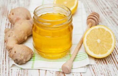 Настой из меда, лимона, корня имбиря