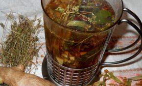 Очистка  печени монастырским чаем