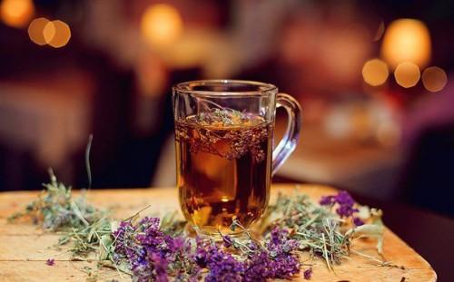 Лечебный травяной чай