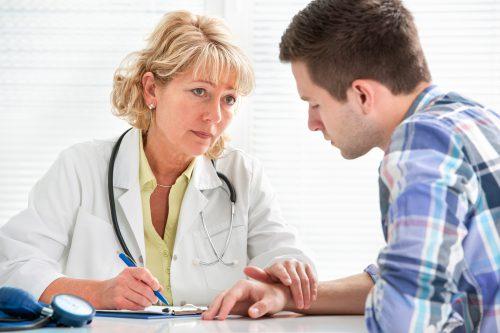 Беседа с психиатром