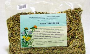 Сбор от алкоголизма: Монастырский чай