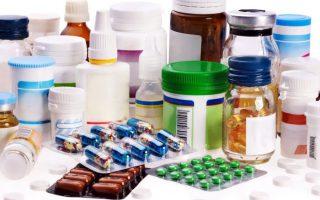 Лекарственные средства в упаковах