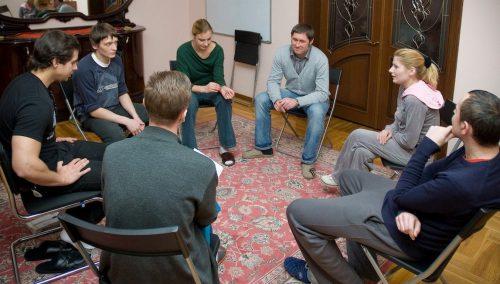 Беседа в клинике