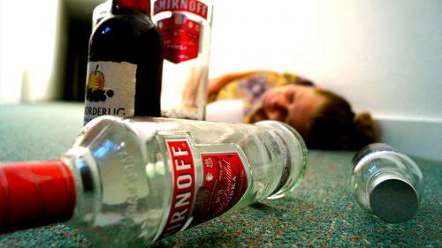 Бутылки из-под спиртного